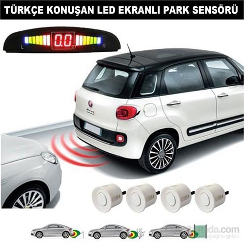 Carat Sensörlü Türkçe Konuşan Park Sensörü Beyaz