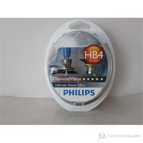 Philips Hb4 9006 5000K Diamond Vision