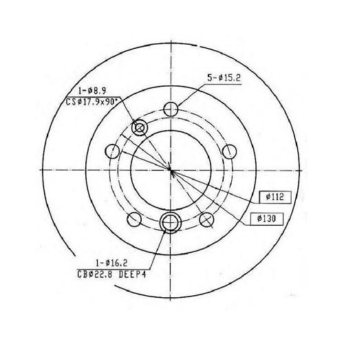 Ferodo Fcr229a Arka Fren (Aynası) Dıskı Sprınter 208D/210D/212D/214 95--> Lt28-Lt46 Lt35 2,3/2,5Sdı/2,5Tdı/2,8Tdı 96-->