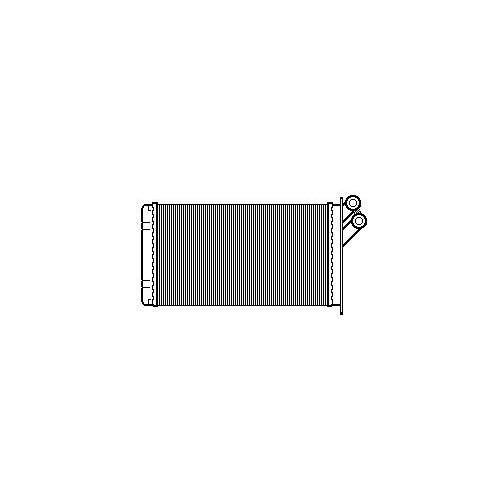J. Deus 211M53 Kalorifer Radyatörü Scudo (96-02)-Jumpy 96>Expert (96-02) 806 (99-02) (302X170)