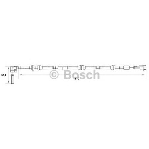 Bosch 0265007016 Devir Sensörü Alfa 156 1.6-1.8-2.0 (97-06)