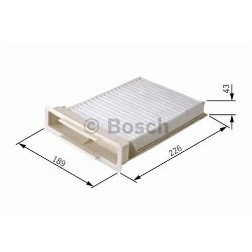 Bosch 1987432120 Polen Filtresi Clıo Iıı-Modus-Twng-Mıcra Iıı-Note-Sandero-Dustero 1.2 16V-1.4-16V-1.6-1.6 16V-1.5Dcı
