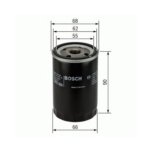 Bosch F026407077 Yağ Filtresi Honda Accord (1983-2009)- Cıvıc (1987-2012)-Crv (1995-2012)-Crx (87-98)-Frv-Hrv-Jazz