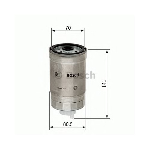 Bosch 1457434511 Yakıt Filtresi Elentra 1.6Crdı (06-)-Hyundaı İ30 1.6Crdı-2.0Crdı (07-)- Santa Fe 2.0Crdı (01-06)