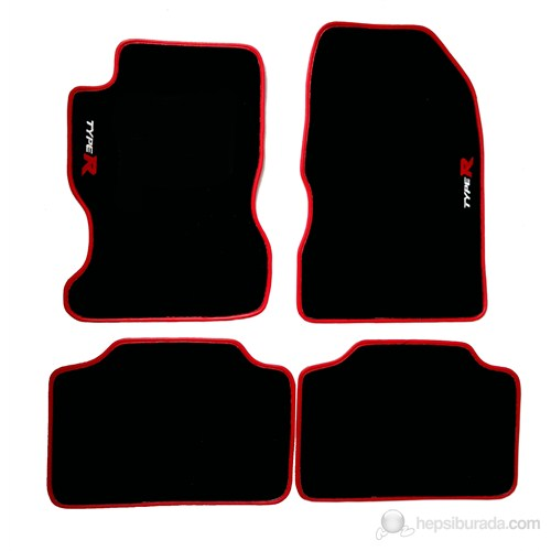 Z tech Honda Typer EP2-EP3 2001-2006 Araca Özel Halı Paspas