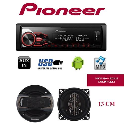Pioneer Mvh-180Ub + Roadstar Hoparlör Seti 3