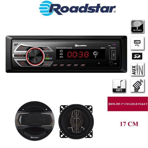 Roadstar Rdm-355 Ve Hoparlör Seti 1