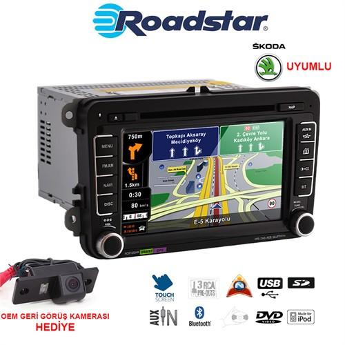 Skoda Dvd Navigasyon Oem Multimedya Ve Oem Kamera Paketi