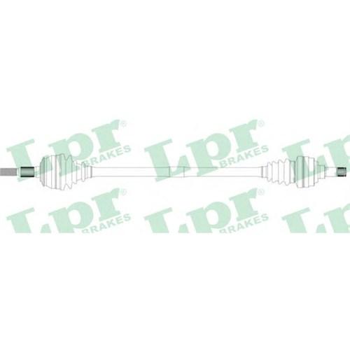 Gsp 244002 On Aks Sol Astra F-Vectra A 1,4I/1,6 16V 92-98 - Combo-Corsa B 1,2I/1,4/1,7D 96-00 (Dıs Freze:22-Ic Freze:22-Abs Halka Dıs Sayısı:29-Uzunluk:585)
