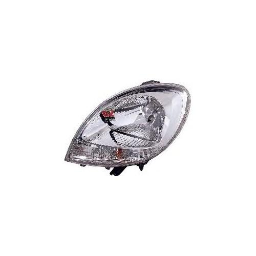Ayfar F 202241 Far Sol Kango Beyaz Sınyallı Motorlu Tıp 03-07
