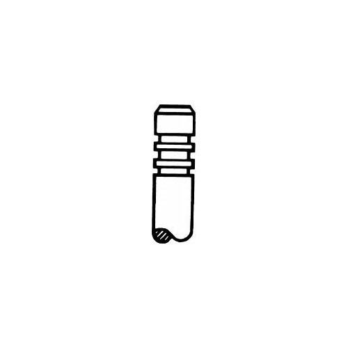Gunes 4572-4573 Subap Takımı Emme / Egsoz C3-P1007-P207-P307-C4 Et3j4(1,4I 16V) Olcu: In-8(28,3*5,5*100,8) / Ex-8(24,3*5,5*101,1)