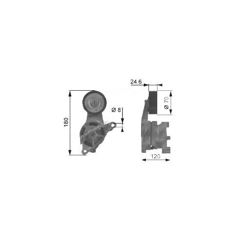 Alt 02352 Alternator Rulmanı Demır Kutuklu Octavıa-Toledo-Bora-Caddy Iı-Golf Iv-Polo Classıc 1,9Sdı-1,9Tdı