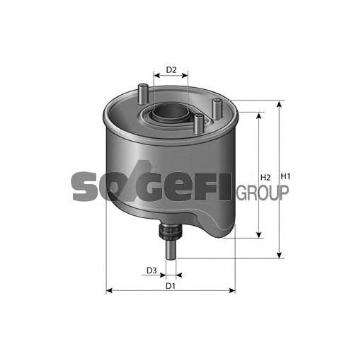 Purflux Cs764 Yakıt Filtresi Ford Cmax Iı 1.6 Tdcı-Fıesta Vı 1.4 Tdcı-1.6 Tdcı-Focus Iıı 1.6 Tdcı-Volvo C30 1.6D