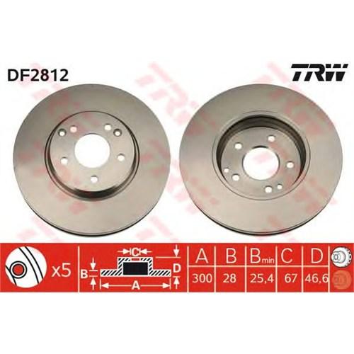 Febı 04630 Ön Disk Ayna (Kompressör) - Marka: Ml - W203/W209/W171 - Yıl: 97-10 - Motor: Bm