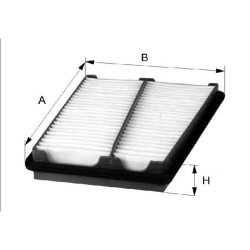 Mahle Lx18502 Hava Filtre (E1030l01) - Marka: Ml - W211-219-221-164 - Yıl: 05- - Motor: Om642