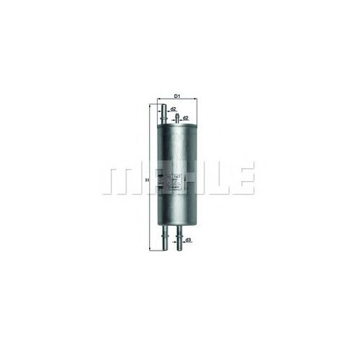 Hengst H268wk Marka: Bmw - X5 E53 - Yıl: 00-07 - Yakıt Filtre - Motor: M62