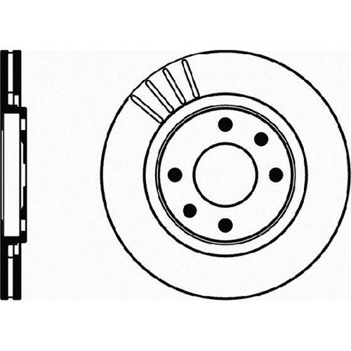 Bsg 70210019 Ön Disk Ayna - Marka: Pejo - 206 Gtı/Partner-1/Berlıngo-1 - Yıl: 04- - Motor: 2,0I 16V-1,9 Xud9