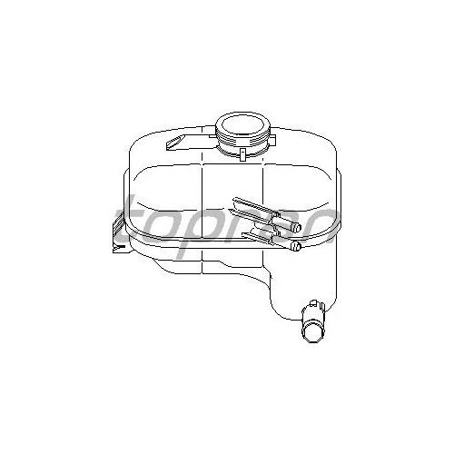 Bsg 65550003 Genleşme Deposu - Marka: Opel - Astra H - Yıl: 04- - Motor: Bm