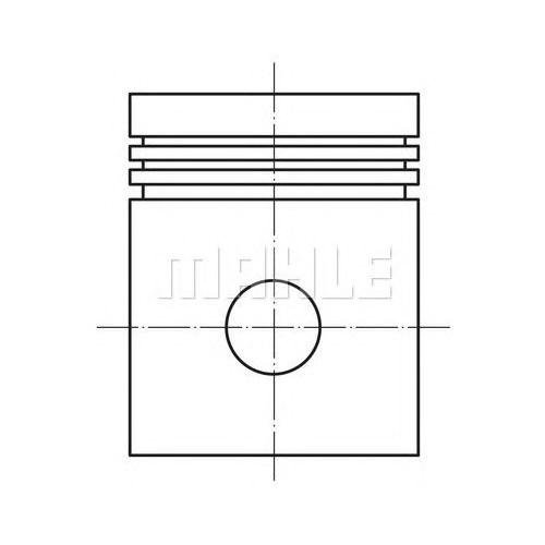 Federal 8771673050 Pıston Sekmanlı - Marka: Opel - Astra G - Yıl: 01-04