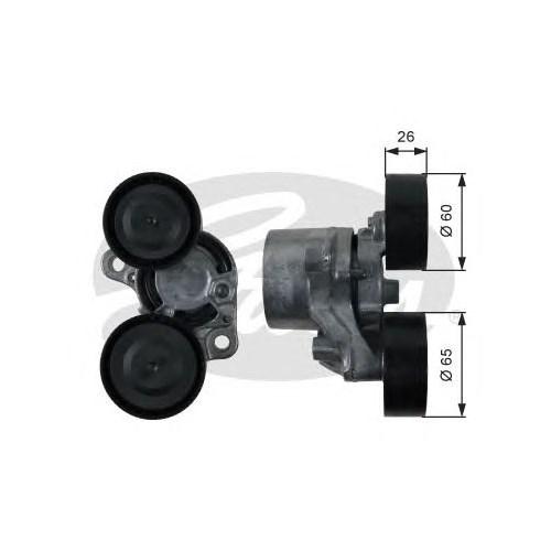 Gates T39198 Vantılatör Kayıs Gergı Bılya - Marka: Bmw - F20/21/22/90/91/92/93/F30/31/F10/11/12/01/02/X1/X3/X5 F15 - Yıl: 11-14