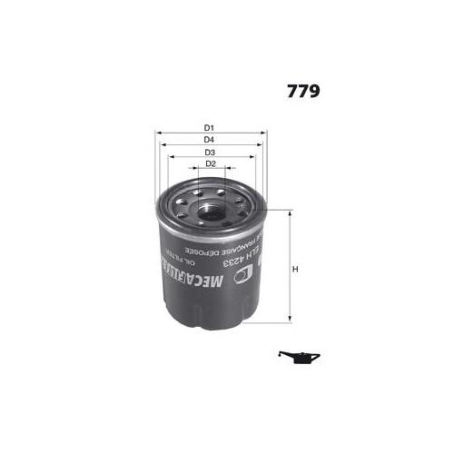 Mann W67.1 Yağ Fıltresı Mgn Iıı-Clıo Iıı-Lgn Iıı-Scenıc Iıı-Koleos 2.0 16V-Hyundaı Atos-Pıcanto-Prıde