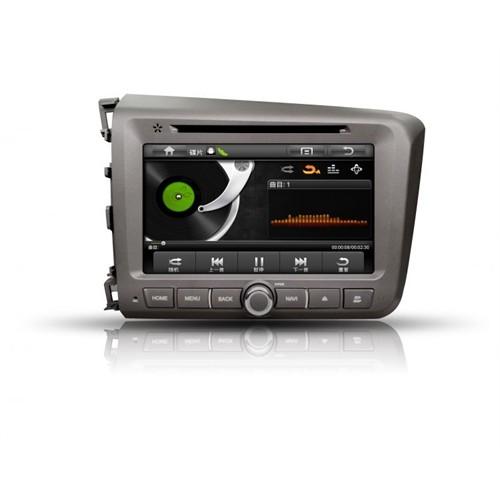 Necvox Honda Civic 2012 Multimedya Sistemleri