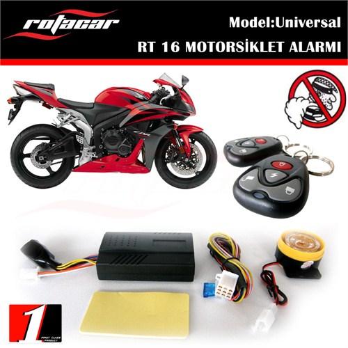 Rotacar Motorsiklet Alarmı Çift Kumandalı