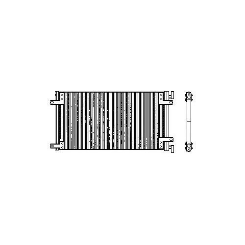Denso Dcn09040 Klıma Radyatoru ( Fıat: Doblo 1.2 00-)