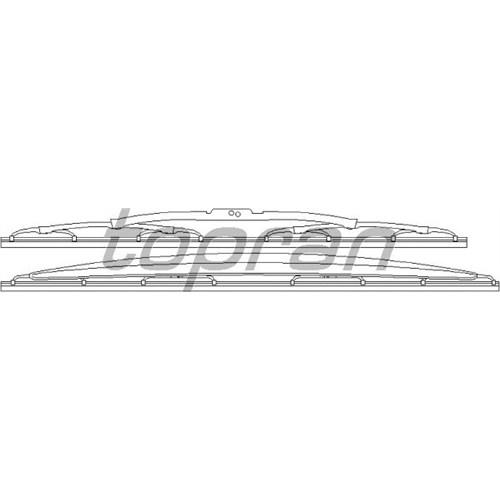 Valeo 116313 Marka: Bmw - E36 - Yıl: 91-99 - Silecek Komple - Motor: