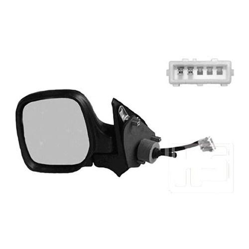 Viewmax Vm118nr Dıs Ayna Manuel Isıtmalı Sag ( Peugeot : Partner 97-- / Cıtroen : Berlıngo : 97-- )