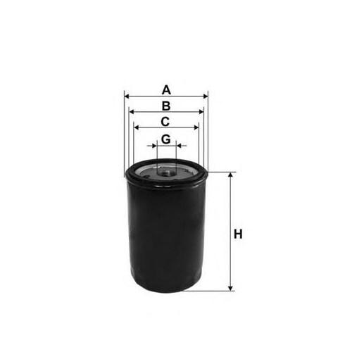 Bosch 0986627624 Yag Fıltresı ( Peugeot : Boxer / Cıtroen : Jumper 2.5D Td )