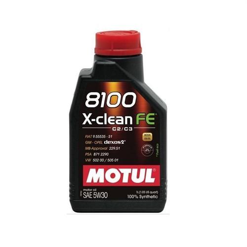 Motul 8100 X-Clean Fe 5W30 1 Litre