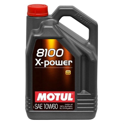 Motul 8100 X-Power 10W-60 5 Litre