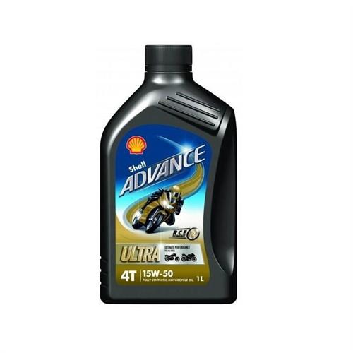 Shell Advance 4T Ultra 15W50 1 Litre