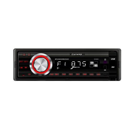 Carway Cr-8000 Bluetooth, Çıkarılabilir Ön Panel Fm/Sd/ Usb/ Mmc/ Mp3 Oto Teyp