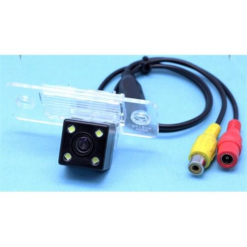Space Plaka Lambası Geri Görüş Kamerası / Vw Tou.Polo-Tiguan-Passat B5+Skoda-Fab