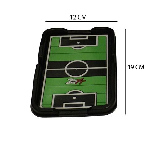 Z tech Futbol Sahası 3D Kaymaz Telefon Navigasyon Tutucu