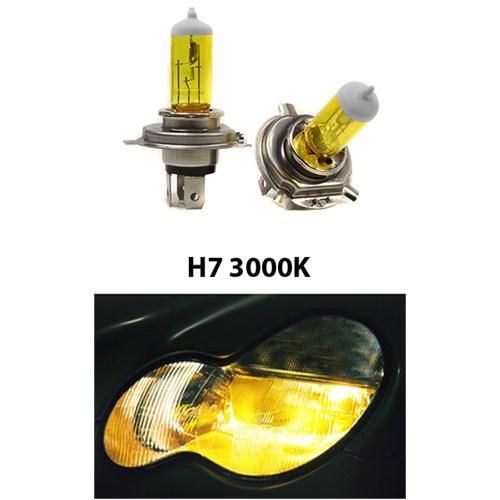 Gliptone Super Yellow H7 JDM Sitili Sarı Ampul Seti