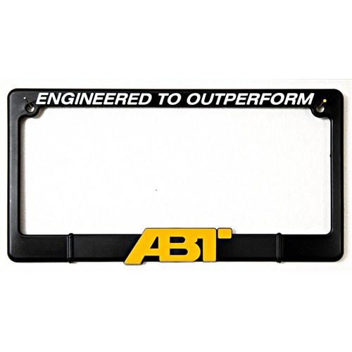 Z tech Abt Sarı Logo Kare Plakalık