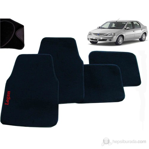 Z tech Dacia Logan 2004-2012 Araca Özel Halı Paspas