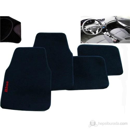 Z tech Hyundai Accent Blue Araca Özel Halı Paspas