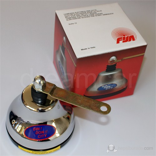 Fisa Çın Çın Çan Korna 12 Volt. Made in Italy 641050010