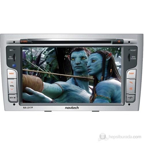 Navitech NX-217 F Peugeot 308 ve RCZ Navigasyon ve Multimedya Sistemi (Harici TV alıcısı ve Geri Görüş Kamerası Hediye)