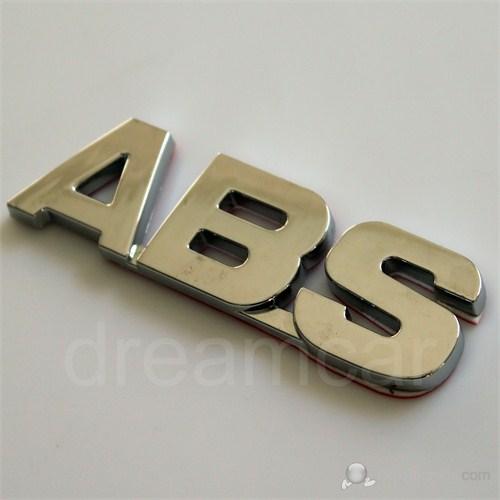 ABS Krom 3 Boyutlu Amblem 8000638