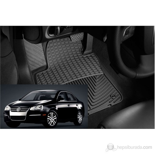 Volkswagen Jetta Orjinal Paspas Seti %100 Kauçuk (2005/2011)