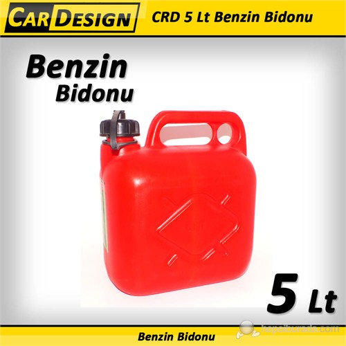 CRD 5 Litrelik Benzin Bidonu