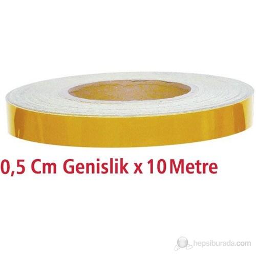 Modacar 0,5 Cm Genişlik Sarı Fosfor 10 Metre