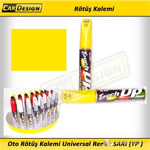 CRD Oto Rötüş Kalemi Universal Renk : SARI (YP )