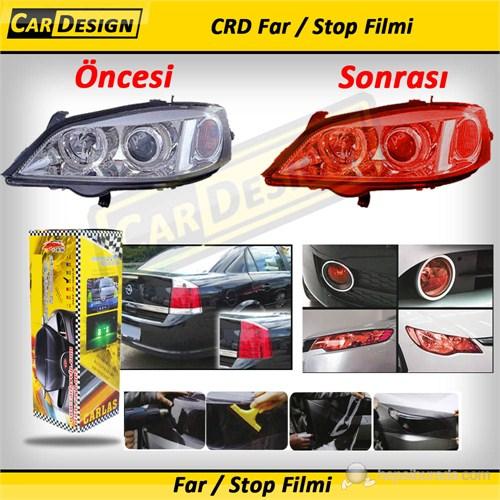 CRD Far / Stop Filmi KIRMIZI 30 cm x 10 Metre (Rulo)