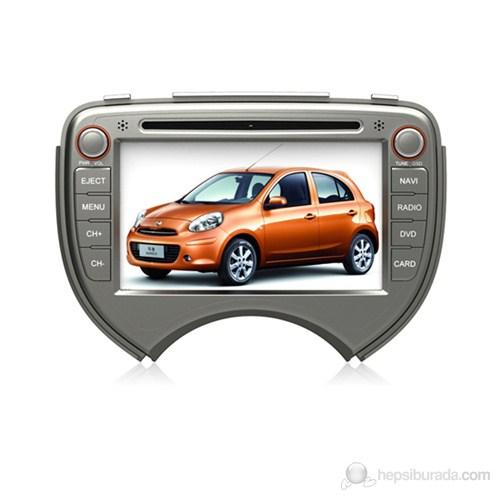 Navimate Nissan Micra (2011-...) Model Araca Özel Multimedya Sistemi